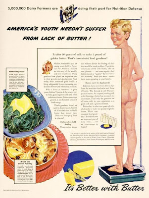 America's Youth Needn't Suffer From Lack of Butter!