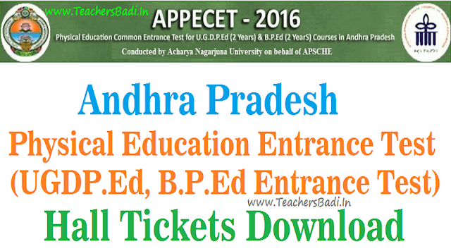 AP PECET,Hall Tickets,APPECET.ORG.IN