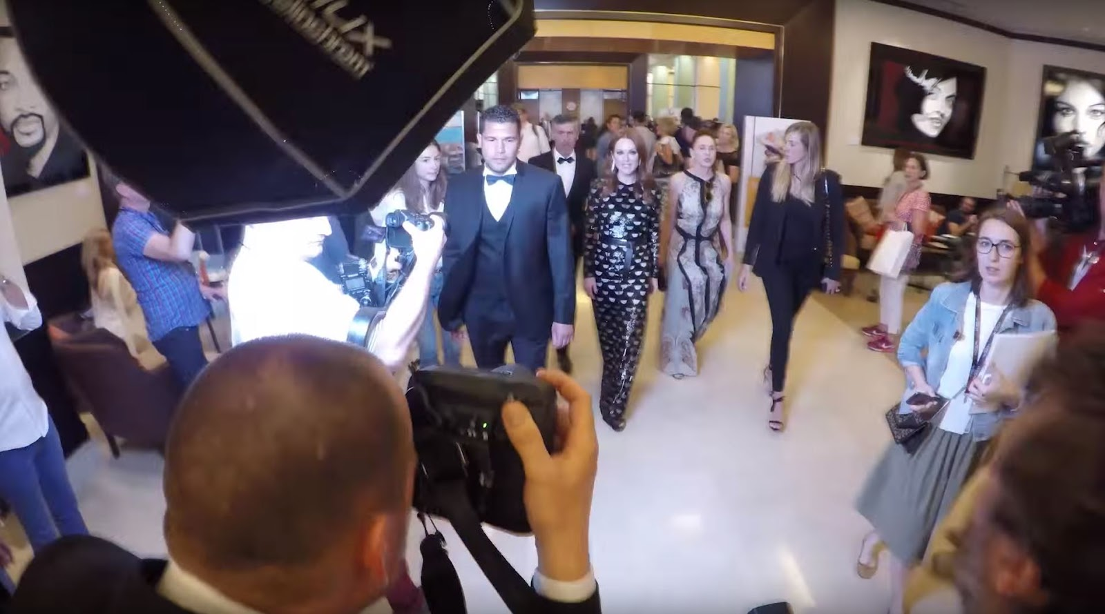 Behind the Scenes with L'Oreal Ambassadors Gareth Cattermole