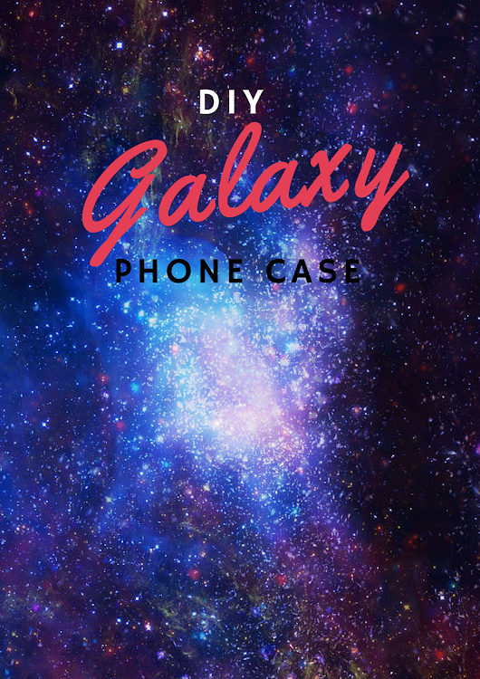 Thinking Like May: DIY- Erasable Galaxy Phone Case + Weekly doggy update!