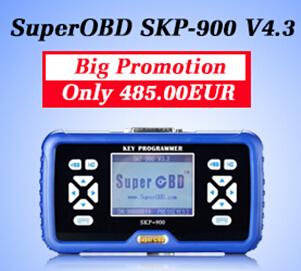 SuperOBD SKP-900 V4.3 Handheld Key Programmer