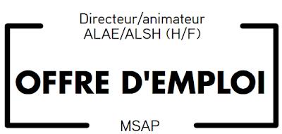 Directeur/Animateur ALAE/ALSH (H/F)