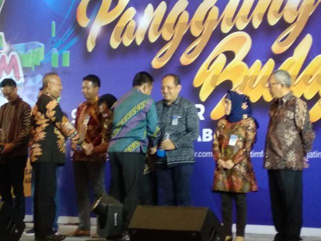 "Usung Tema ""Goa Lawa""  Stand Pameran Trenggalek Jawarai Jatim Fair 2018"