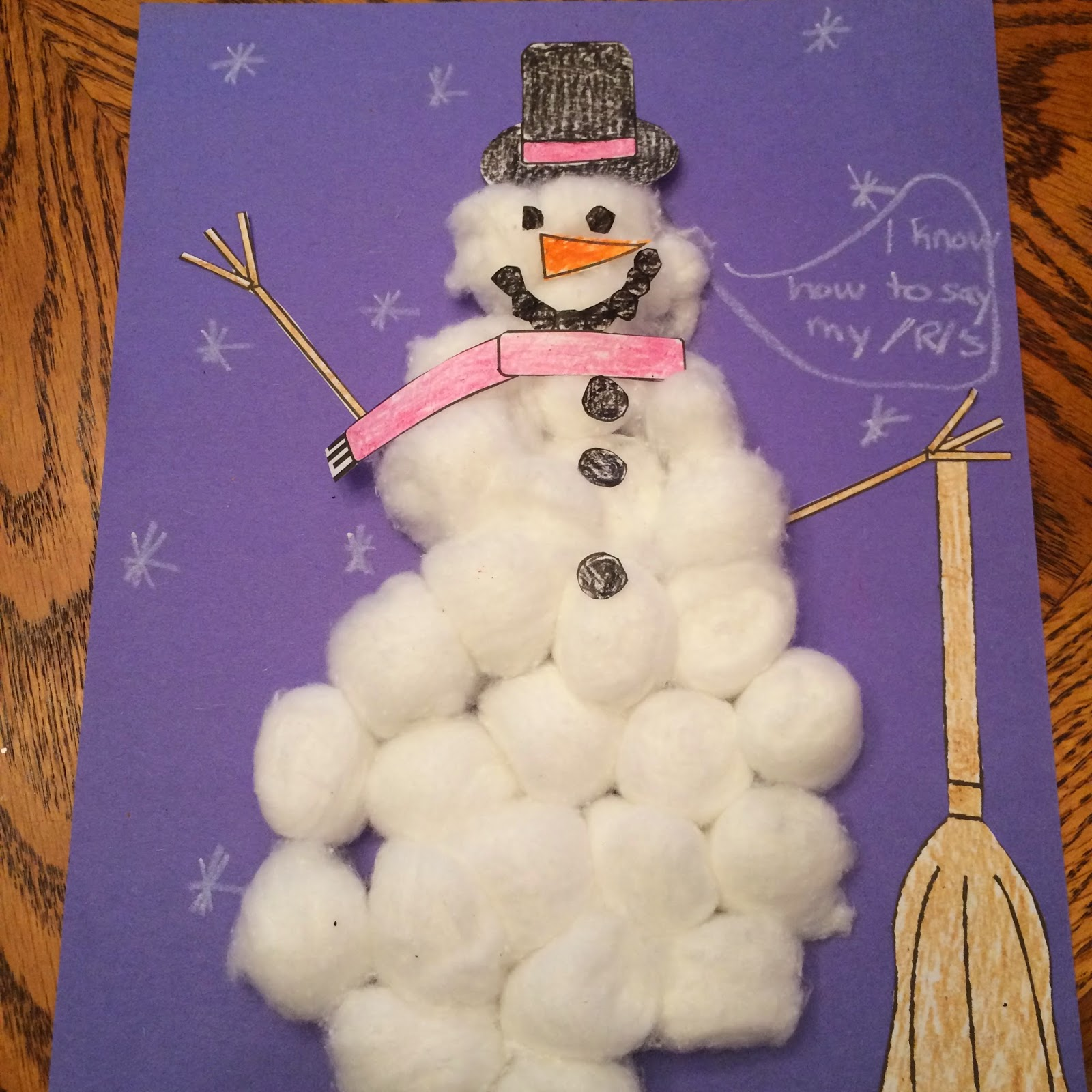 Winter Speech Therapy Activities