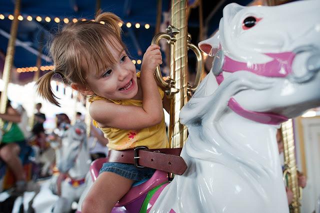 Parque temático com crianças em Orlando
