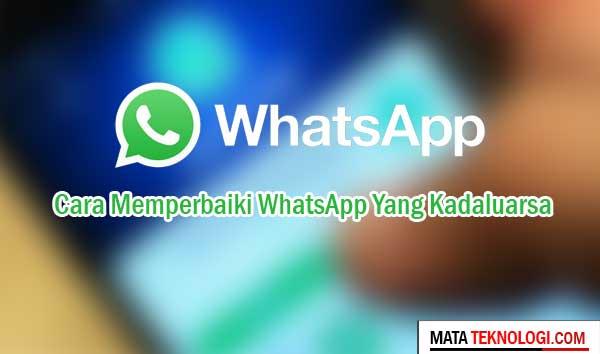 Cara Mengubah Tanggal Whatsapp Kadaluarsa