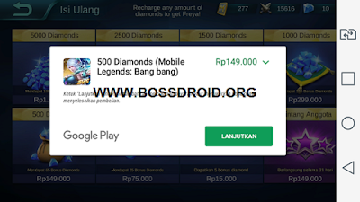 Cara Beli Diamond Mobile Legends Tanpa Kartu Credit