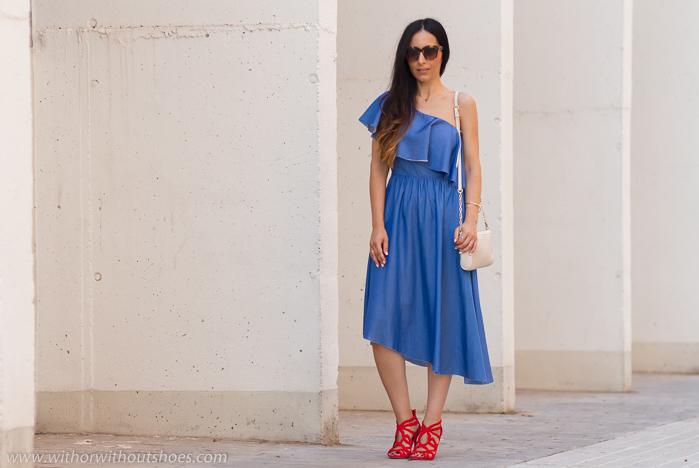 Influencer de moda de Valencia con looks ideas como combinar ropa de Zara estilosa
