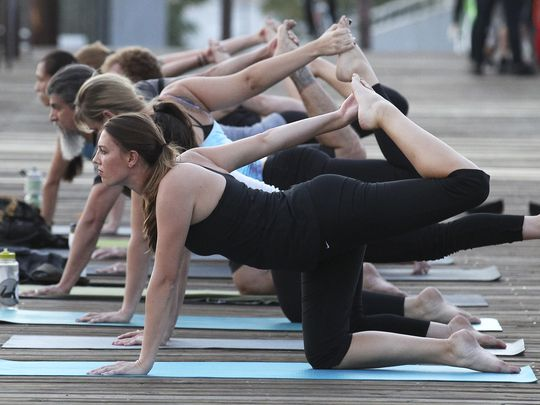 Yoga is now an international trend, seen as both a ways to reach spiritual enlightenment and a form of exercise. Reuters