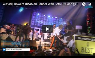 Wizkid Sprays Lots Cash On A Fan At Felabration 2017 | WATCH VIDEO
