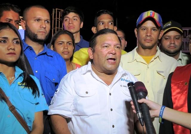 """Andrés Velásquez: """"Asuman su responsabilidad ante la crisis o entreguen el gobierno"""""""