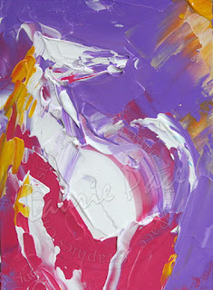 Lindos Cuadros Caballos Abstractos