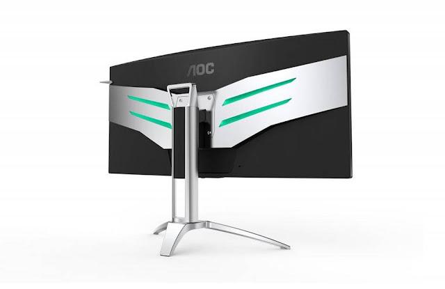 AOC AG35QCX - Màn hình cong siêu rộng dành cho game thủ