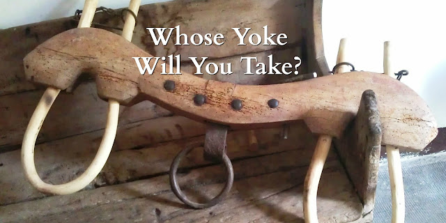 Christ's Yoke is Easy - Matthew 11:28-30