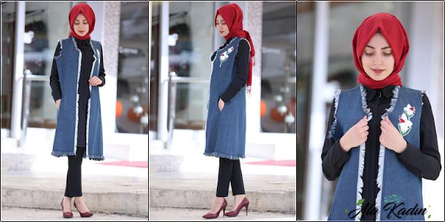 Ala Kadın'dan yeni sezon kot ceket modelleri
