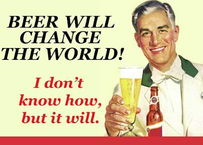 A cerveja vai salvar o mundo
