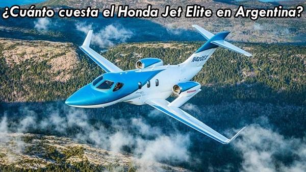 Honda Jet Elite ¿cuánto cuesta avión en Argentina?