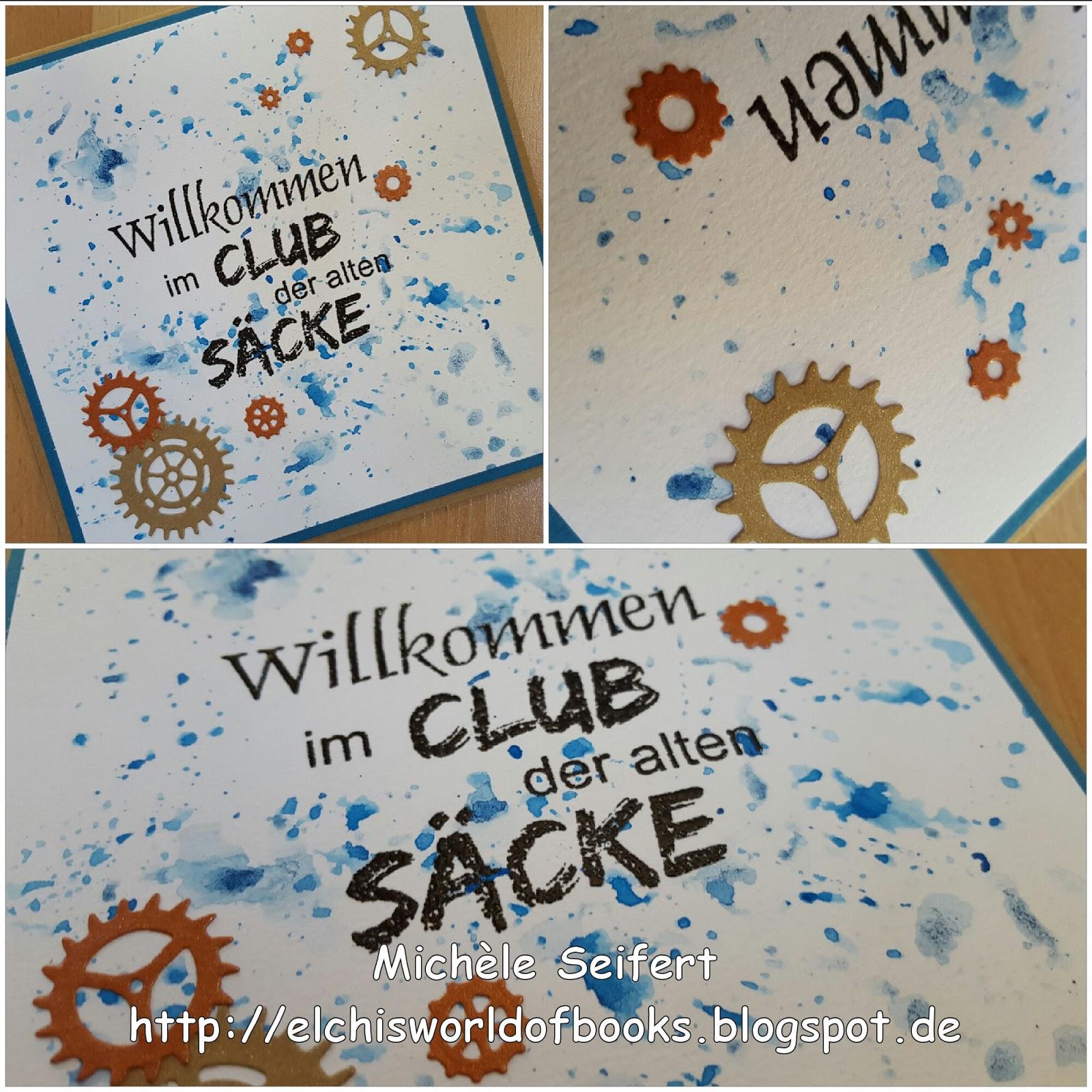 Pp Stamps Club Der Alten Sacke Elchi S World Of Books Crafts