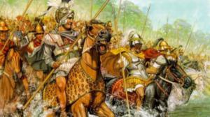 Η στρατιά του Μεγ. Αλεξάνδρου