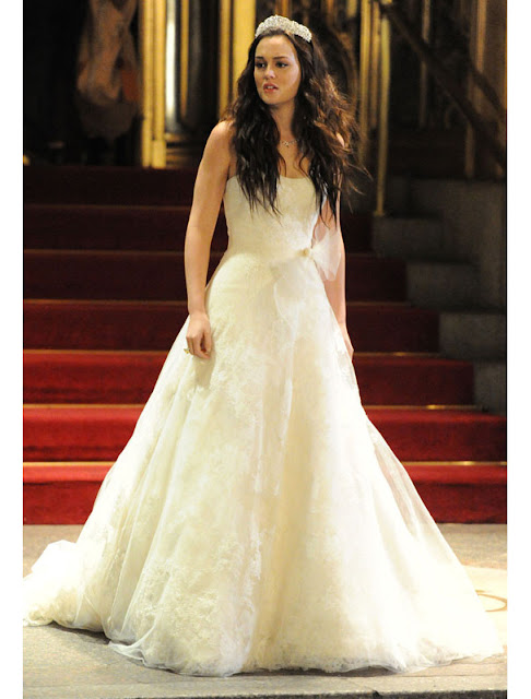 Blair Waldorf Vera Wang Bridal house