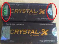 Jual Crystal X Asli Dari PT Nasa Jogja