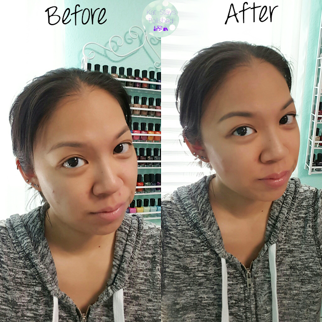 Luminess Air Legend - Before and After| Kat Stays Polished