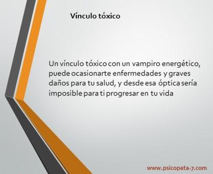 """""""Vinculo toxico"""" - Imagen"""