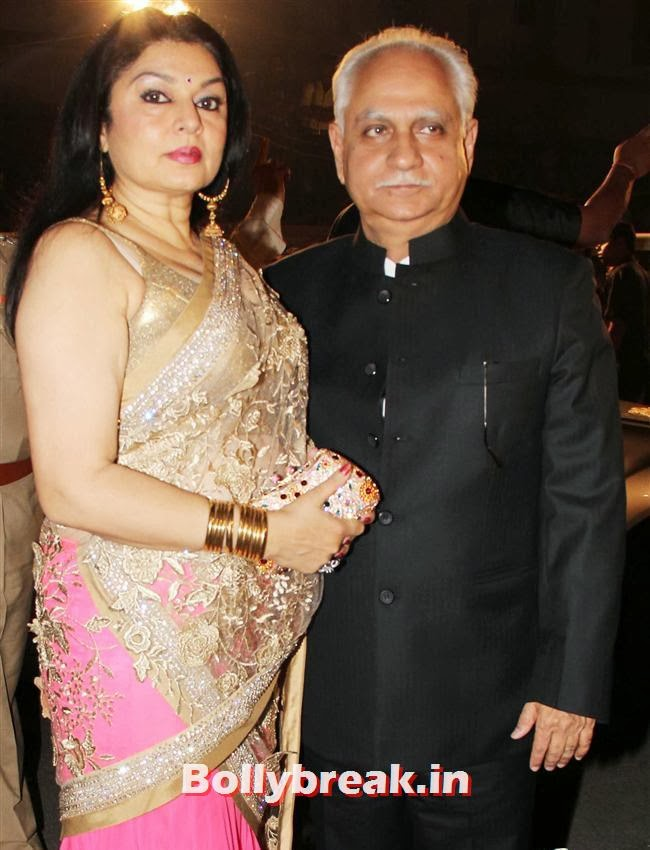 Kiran and Ramesh Sippy, Filmfare Awards 2014 Red carpet Images