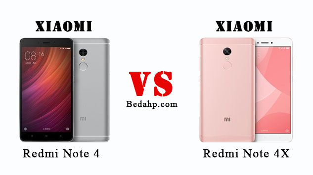 Perbedaan Redmi Note 4X VS Redmi Note 4