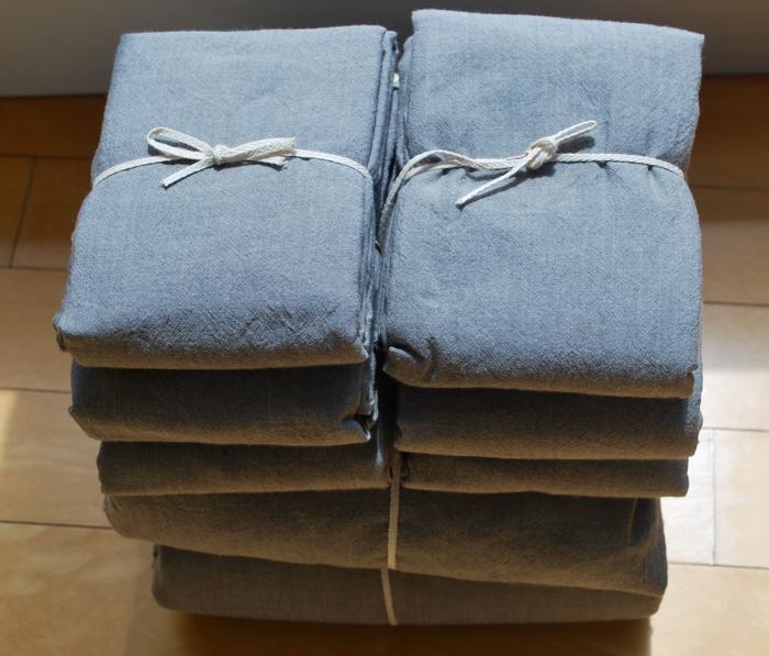 Muji sheets