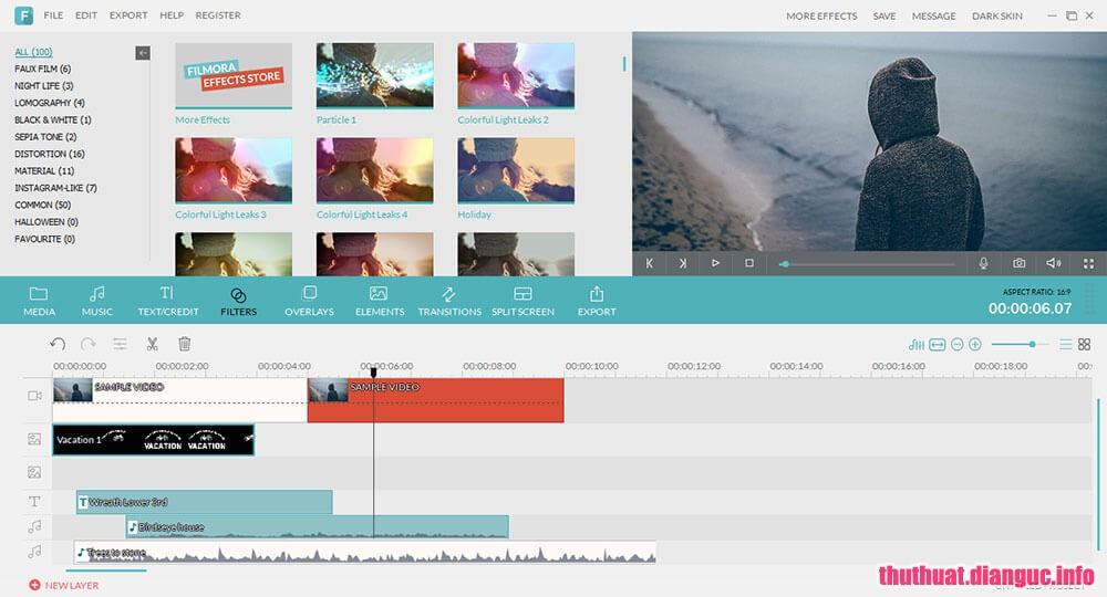 Download Wondershare Filmora 8.7.3.0 Full Cr@ck – Biên tập video đơn giản nhất