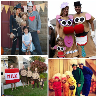 76 FAMILY COSTUME IDEAS FOR HALLOWEEN.  People are so creative!  I love these! #growingajeweledrose #familyhalloweencostumes #familycostumes #halloweencostumesfamily #halloweencostumesforkids #halloweendiy #familycostumeswithkids #familyhalloweencostumeswithkids #halloween