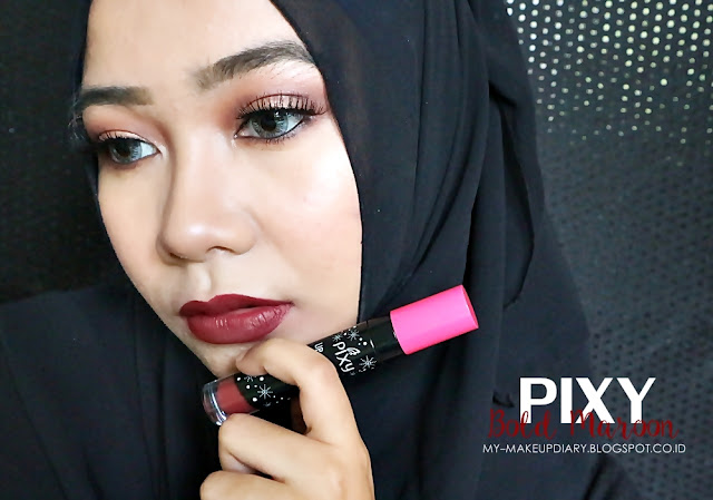 [REVIEW] Pixy Lipcream 01 Chic Rose & 06 Bold Maroon