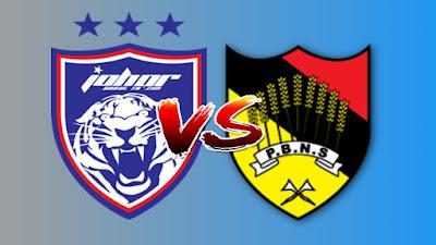 Live Streaming JDT II vs Negeri Sembilan Liga Premier 12.4.2019