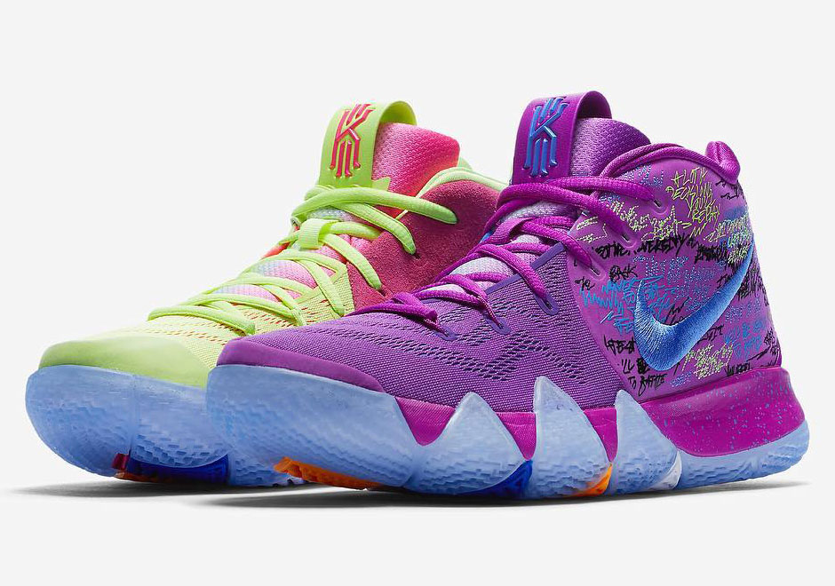 Kyrie 4 Multi-Color  ad05fe654