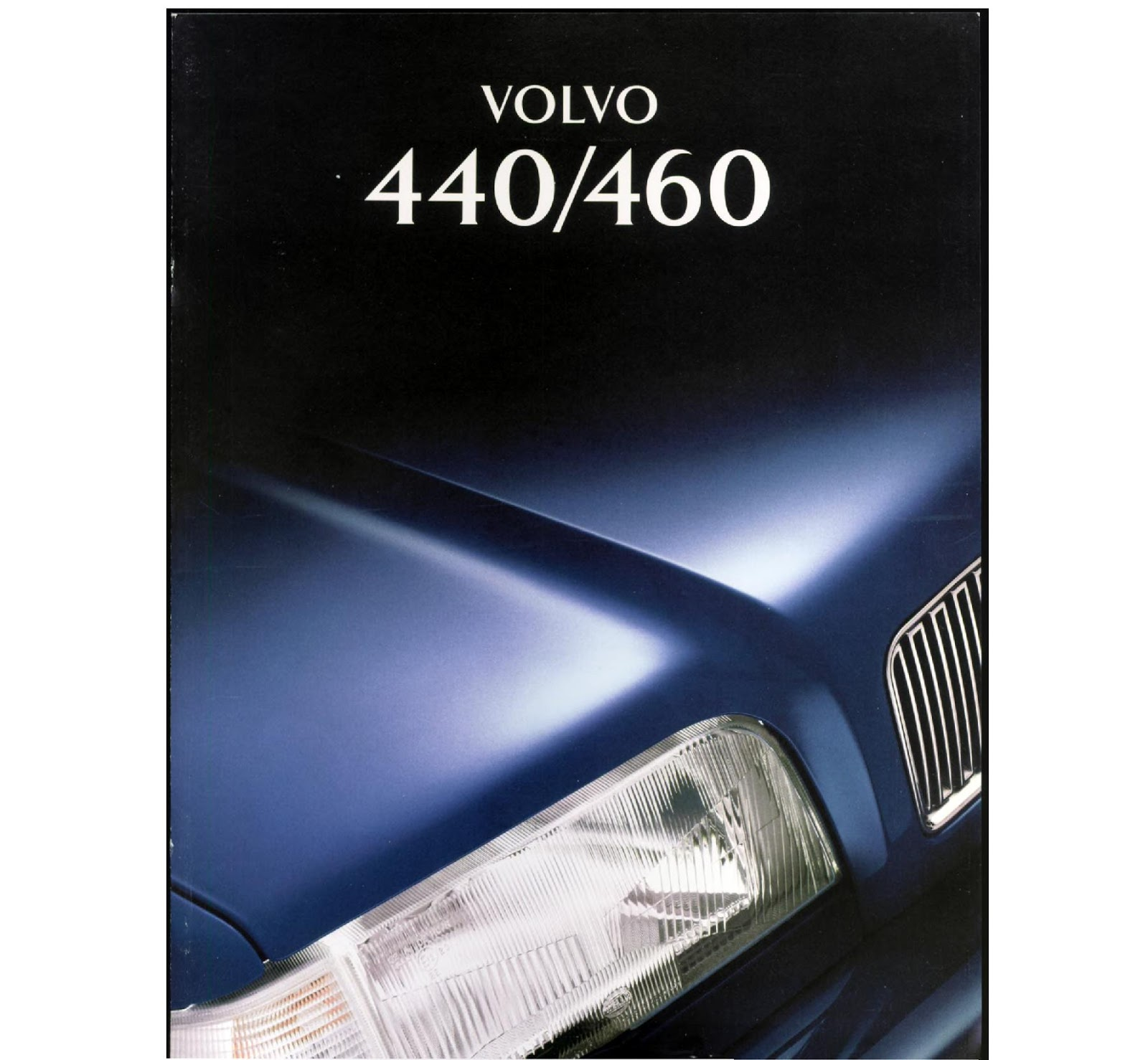 Download A Brochure For Volvo Models: My World Of Volvo: Volvo 440 Brochure (NL