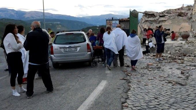 Scores dead as quake hits near Umbria in central Italy