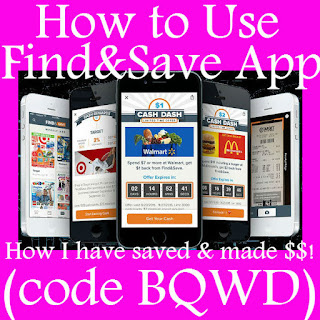 How to submit receipt to Find&Save, Find&Save Referral Code