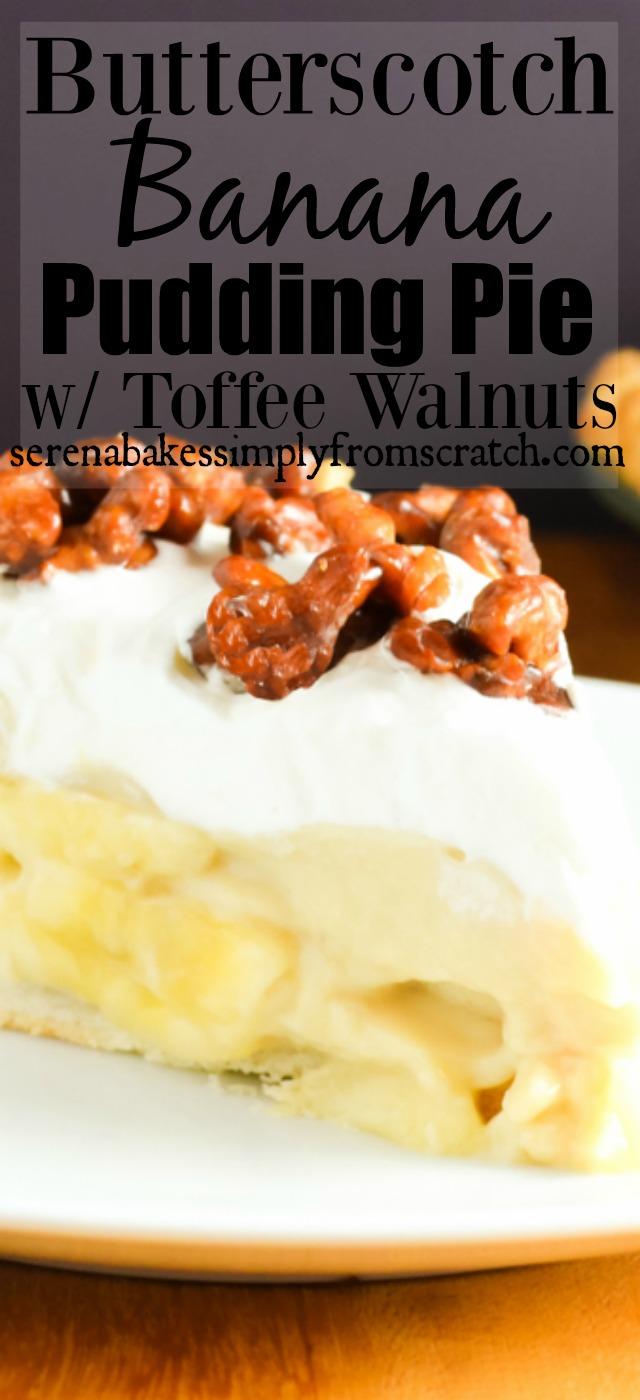 Butterscotch Pudding Pie Recipe — Dishmaps