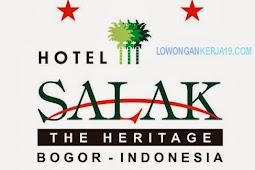 Rekrutmen Hotel Salak Terbaru Bulan Februari 2019