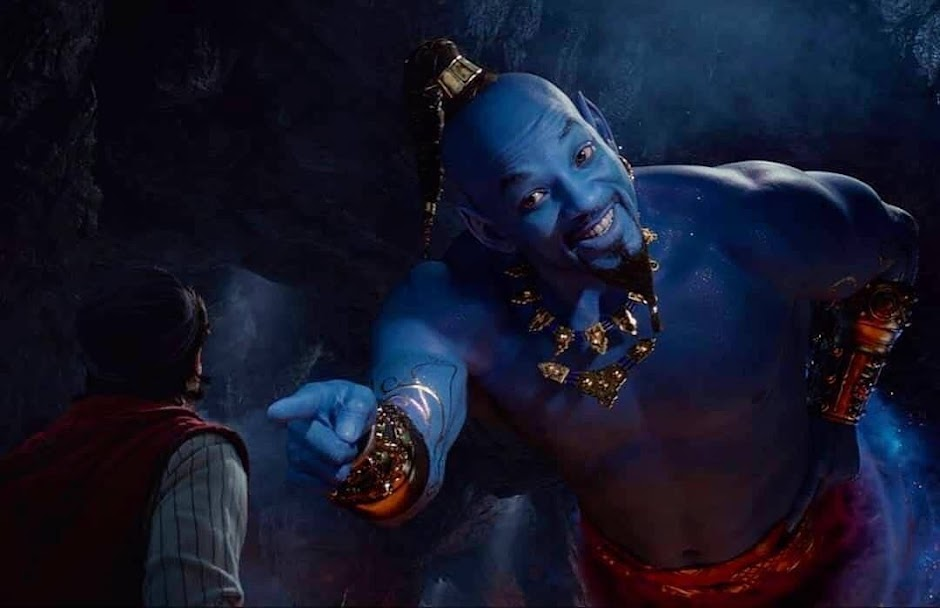 "Novo trailer de ""Aladdin"" revela o Gênio de Will Smith"