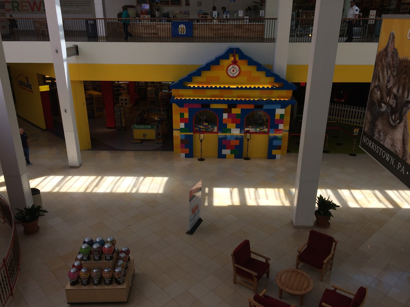 You can also download the legoland discovery center app to make the most of your trip i didn t do this because my phone is full of kids gaming apps and