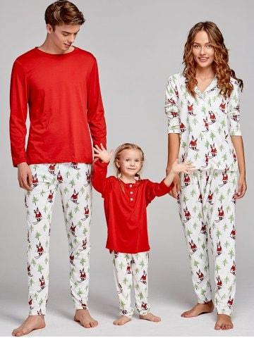 Santa Claus Family Christmas Pajama Suit