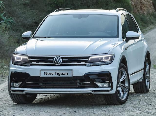 Novo Tiguan chega ao Brasil em 2017: preços ~ R$ 130 mil