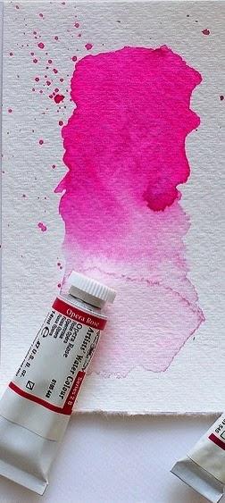 My watercolor friend ❖ Opera Rose