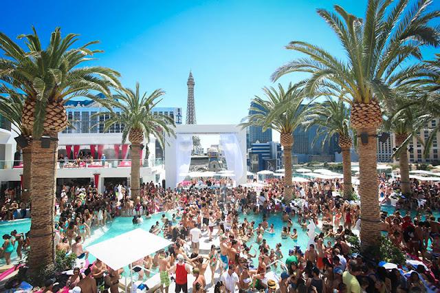 Dicas de Las Vegas A estrutura da Marquee Dayclub Pool Party em Las Vegas