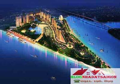 Dự án Sài Gòn Peninsula - Công viên mũi đèn đỏ
