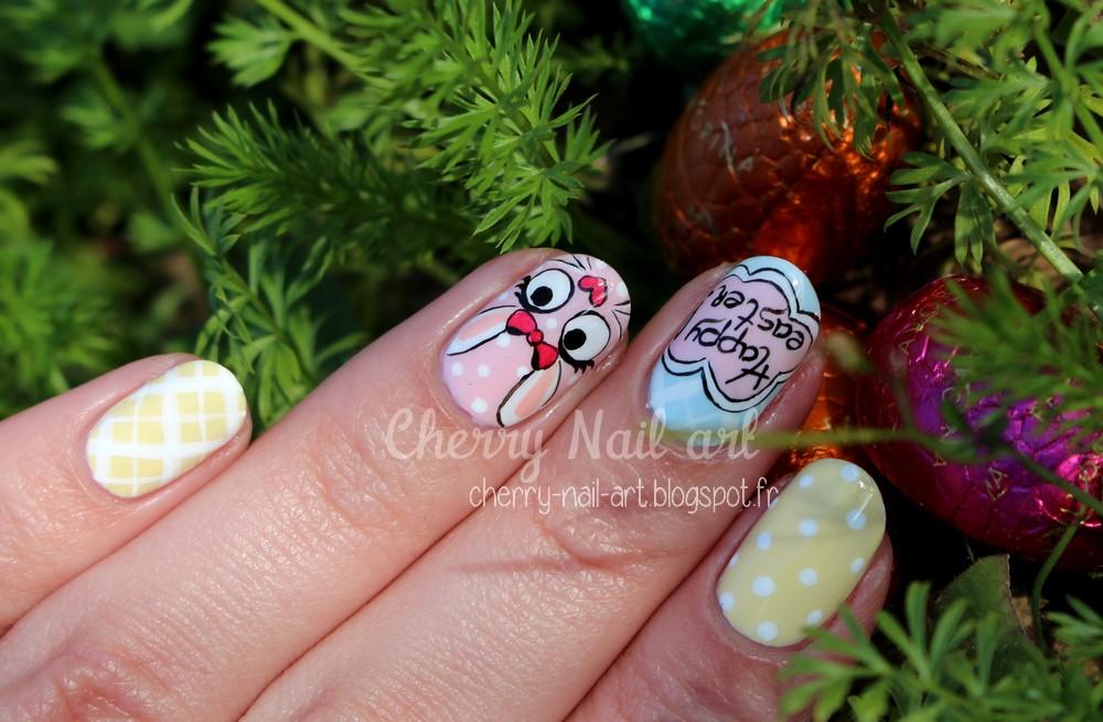 nail art paques
