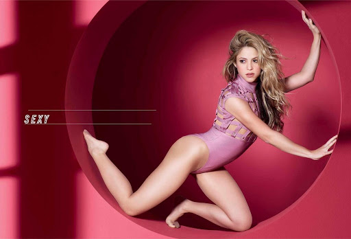 Shakira hot model photos cosmopolitan magazine