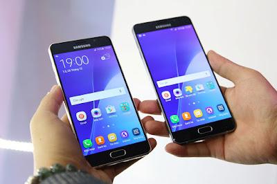 Samsung Galaxy A7 2016 cũ và A5 2016 cũ